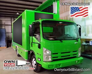 Led Billboard Truck For Sale Everything Included Truck Complete Led System