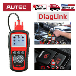 Autel Diaglink Abs Srs All Systems Obd2 Obdii Code Reader Diagnostic Scan Tool