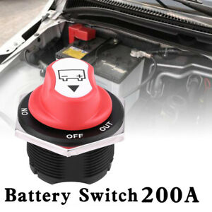 200a 32v Battery Isolator Switch Disconnect Power Cut Off Kill For Marine Boat