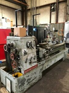Clausing 1760 Lathe With Newall 2 axis Dro