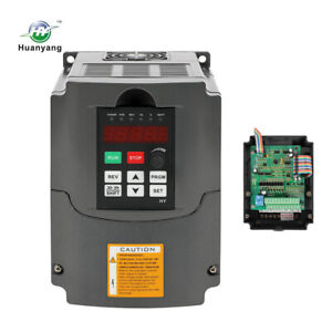 Huanyang 1 5kw 220v 2hp 7a Vfd Variable Frequency Drive Inverter