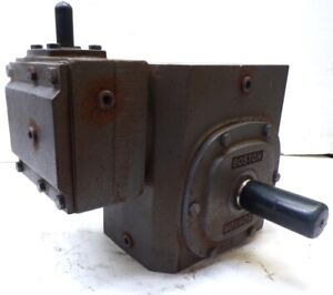 Boston Gear Worm Gear Speed Reducer Wc 732 150 g 150 1 Ratio 3 25 Center