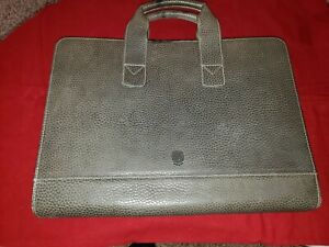 Levenger Thin Leather Briefcase
