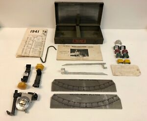 1930 S 1940 S Wilco Wheel Alignment Positioner Old Car Alignment Tool Kit