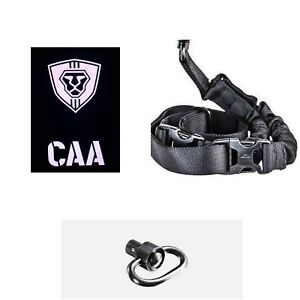 MCK CAA OPS One Point Sling Push Button Swivel Combo for Micro Roni MCK Black $34.95