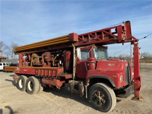 1978 Schramm T64hb Drill Rig Mounted On A 1987 Mack Truck Vin Rd685s6457