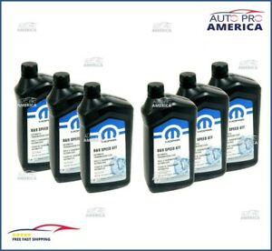 Case 6 1qt Chrysler Dodge Jeep Ram Zf 8 9 Speed Automatic Transmission Fluid