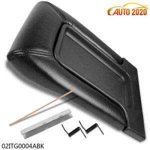 Center Console Armrest Latch Lid For 99 07 Gm Chevy Silverado Black Repair Kit