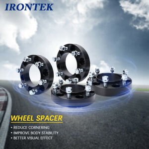 1 25 Thick Hub Centric Wheel Spacers Tacoma Tundra 4 Runner Black For Toyota