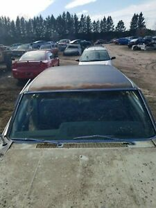 1965 66 Amc Rambler Marlin Front Windshield Surround Chrome Trim Moldings