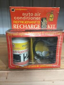 Nos Vintage Interdynamics R 12 Refrigerant Recharge With Full Can