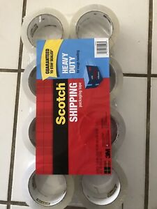 Scotch 3m Shipping Packaging Tape 8 Pack