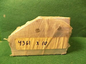 Lot Of 10 80 20 4361 15 Series 4 Hole Joining Plate 60 Degree Nos