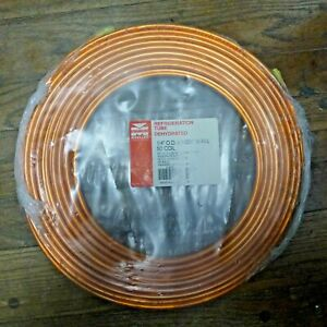 Mueller Refrigeration Hvac Copper Line Tube tubing 1 4 Od X 030 Wall 50 Coil