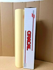 Oracal 651 1 Roll 24 X 10yd 30ft Cream 023 Gloss Sign Vinyl