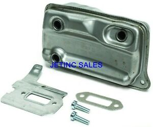 Muffler For Stihl Ts 410 Ts420 4238 140 0611 Gasket Cooling Plate