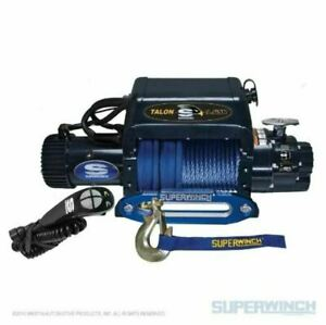 Superwinch 9500lbs Integrated 12 Vdc 3 8in X 80ft Syn Rope Talon 9 5isr Winch