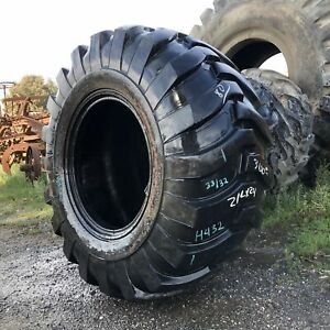 21lx24 Duramax Otr Tire R 4 Industrial Tractor Lug 14 ply Used 33 32 Clean 1 na