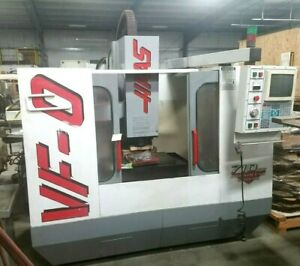 1996 Haas Vf 0 20 X 16 X 20 10 000 Rpm Machining Center Cnc Milling Mill