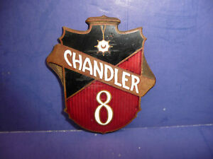 Vintage 1929 Chandler 8 Radiator Emblem Badge Ct27