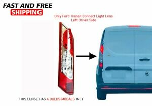 Ford Transit Connect Back Tail Light Lens Left Driver Side 2014 To 2020