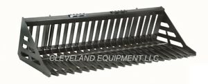 New 60 Hd Skeleton Rock Bucket Skid Steer Loader Attachment Deere Case Gehl Jcb