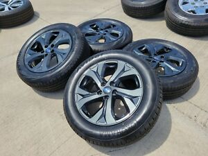18 Subaru Forester Outback Onyx Edition Oem Wheels Rims Tires 2020 2019 96679
