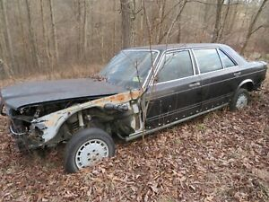 W126 Mercedes 1981 280se Sedan Euro Parts Car 560sel Lots Of Parts Just Ask Me