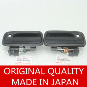 Pair Front Driver Passenger Side Exterior Door Handle Fortoyota Tacoma 95 04