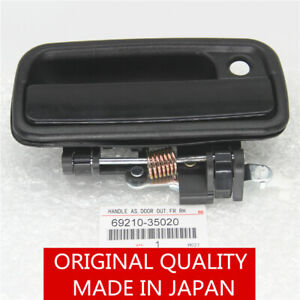 Front Right Passenger Side Exterior Door Handle Black For 95 04 Toyota Tacoma