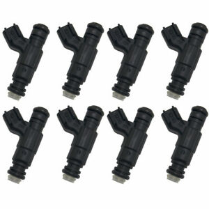 8pcs 630cc 60lb Bosch Fuel Injectors Fits Dodge Ram Chrysler Hemi 5 7 6 1 Srt8
