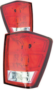 For 2005 2006 Jeep Grand Cherokee Tail Lights Pair Set