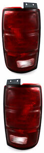 For 1997 1998 1999 2000 2001 2002 Ford Expedition Tail Lights Pair Set