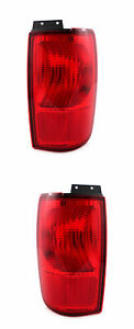 For 1998 1999 2000 2001 2002 Lincoln Navigator Tail Lights Pair Set