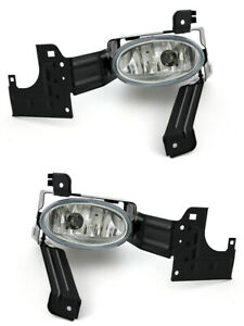 For 2011 2012 Honda Accord Coupe Front Fog Lights Pair Set