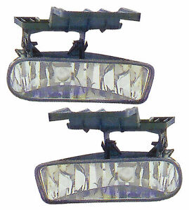 For 1999 2002 Chevrolet Silverado suburban tahoe Front Fog Lights Pair Set