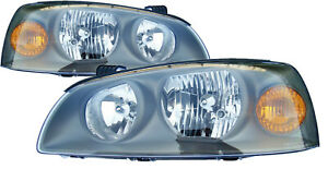 For 2004 2005 2006 Hyundai Elantra Headlights Pair Set