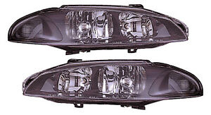 For 1997 1998 1999 Mitsubishi Eclipse Headlights Pair Set