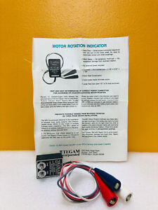 Tegam T470 115 To 700 Volts 400 Cps Phase Sequence Indicator New In Box