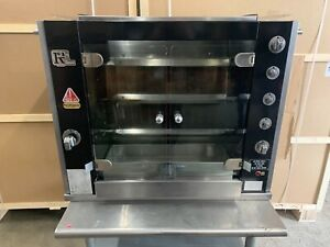 Rotisol 950 2 Natural Gas Countertop Chicken Rotisserie Oven Free Shipping