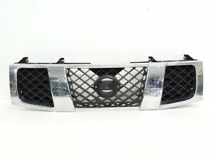 Nissan Armada Titan Upper Front Painted Grill 2004 2005 2006 2007 623107s000 Oem