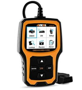 Ancel Ad410 Universal Obdii Automotive Obd2 Code Reader Scanner Auto Scan Tool