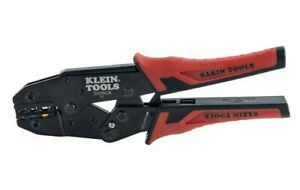 Klein Ratcheting Wire Terminal Crimper Tool For Crimping Insulated Terminals