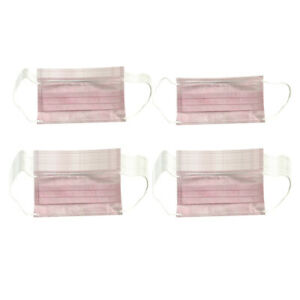 50pcs 3 Ply Disposable Face Mask Protection Anti Dust Fog Mouth Cover Shield