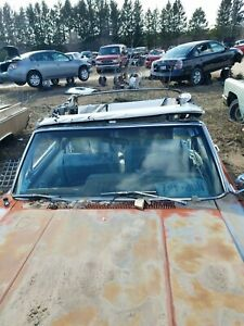 1965 Amc Rambler Classic 770 Convertible Front Windshield Chrome Surround Trim