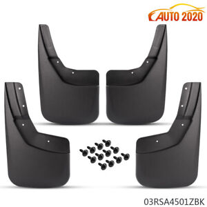 For Chevy Silverado 1500 2500hd 3500hd Truck 4pcs Mud Guard flaps 2014 2018