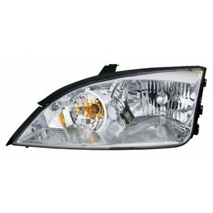 Fits 2005 2006 2007 Ford Focus Head Light Assembly Driver Side Fo2502210