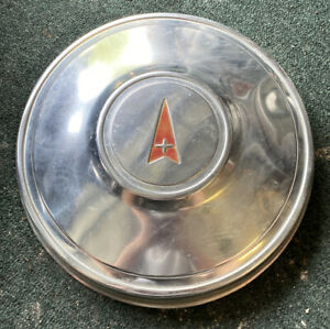 1970 S Dog Dish Aluminum Pontiac Poverty Hubcap Hub Cap Early Take Off Clean
