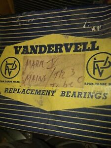 Jaguar Mkiv Xk120 Xk140 Xk150 Vandervell Engine Bearings