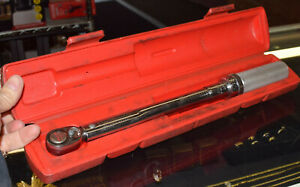 Snap On Tools Qjr2100e 3 8 Drive Torque Wrench Case